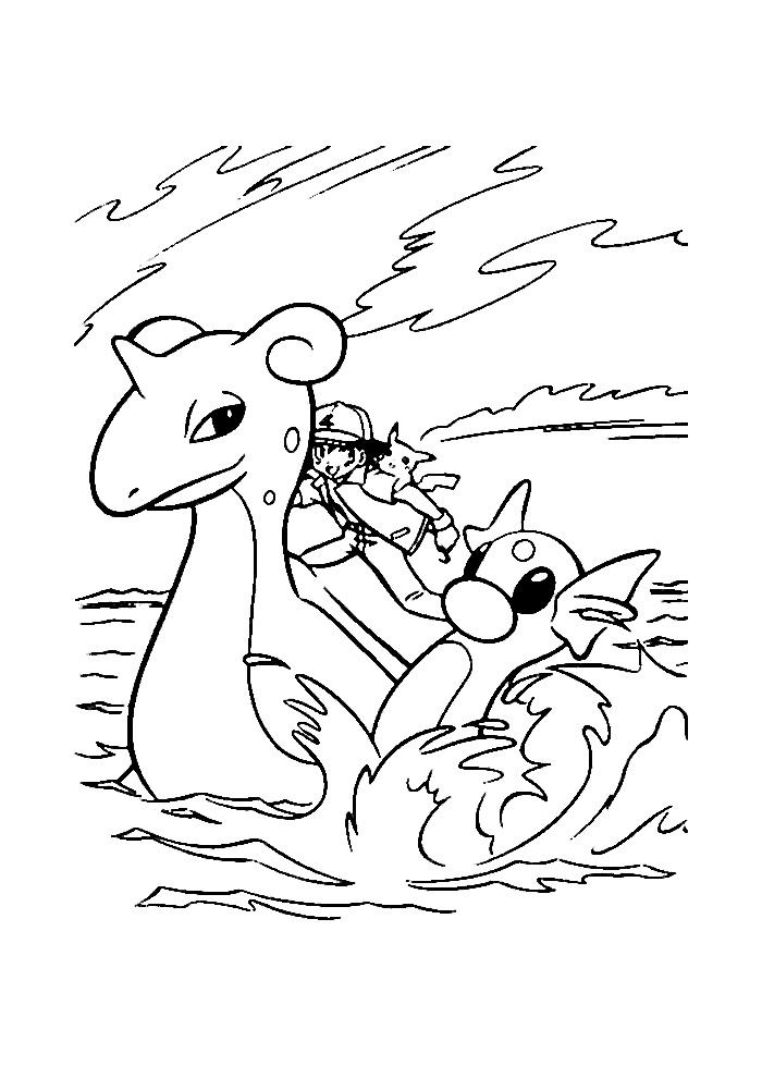 Pokemon - op zee