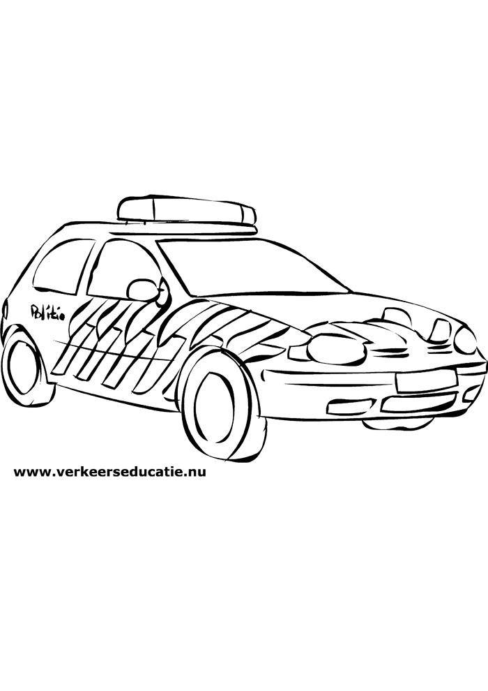 Kleurplaten Politiewagen.Politieauto2 Politieauto Kleurplaten Kleurplaat Com