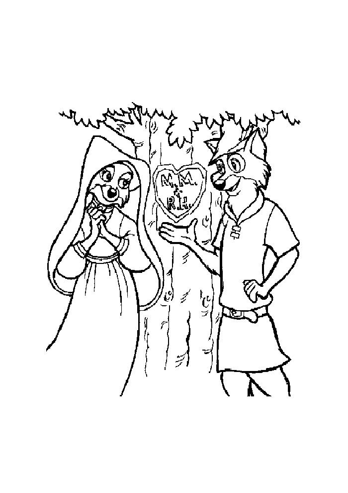 Robin Hood - verliefd