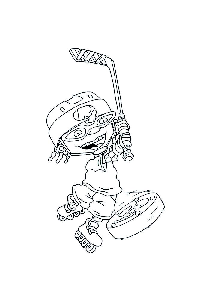 Rocket Power - ijshockey