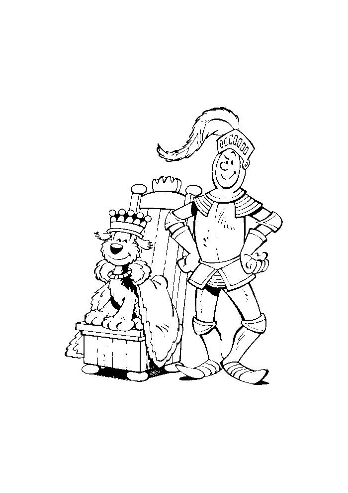 Samson en Gert - als koning en ridder