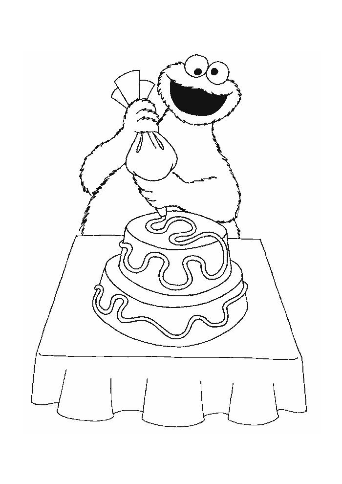 Sesamstraat - koekiemonster