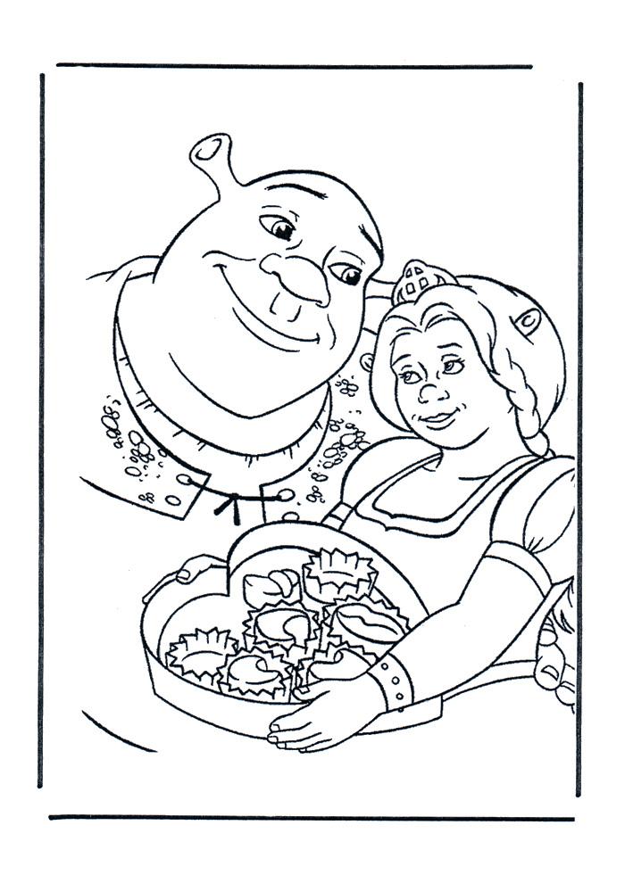 Shrek - lekker die koekjes