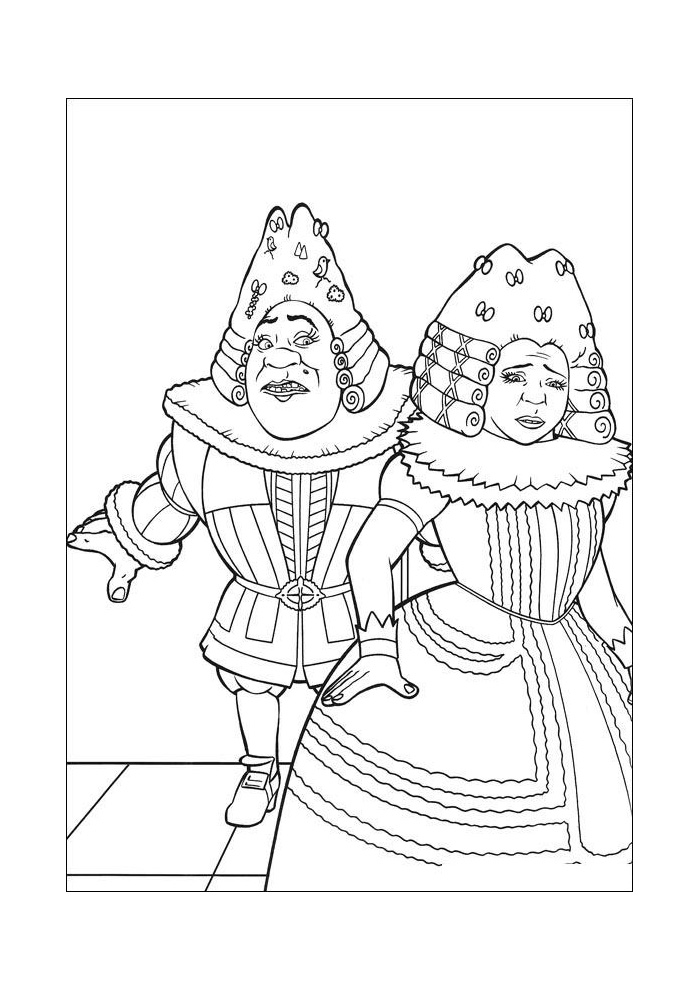 Shrek - als prins en prinses