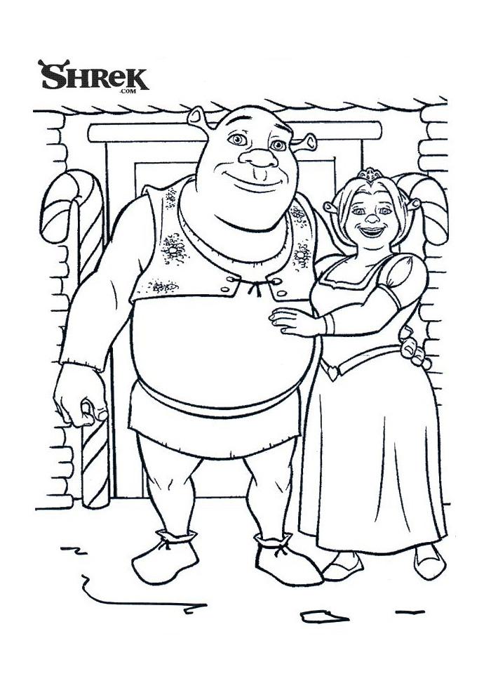 Shrek - voor het huis