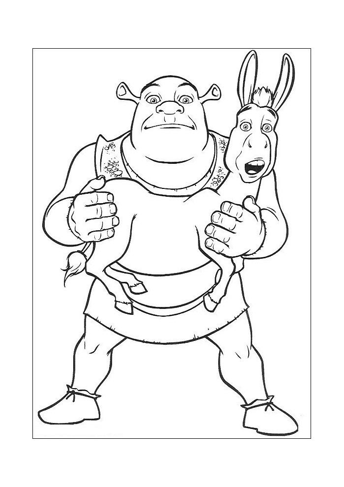 Shrek - shrek tilt ezel