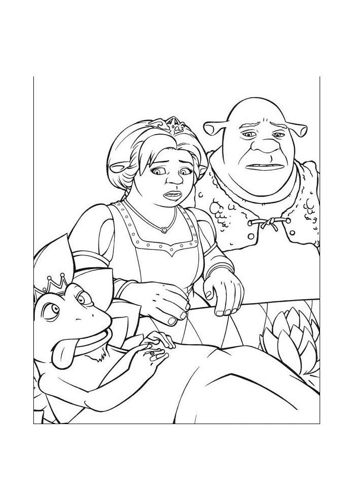 Shrek - beetje ziek