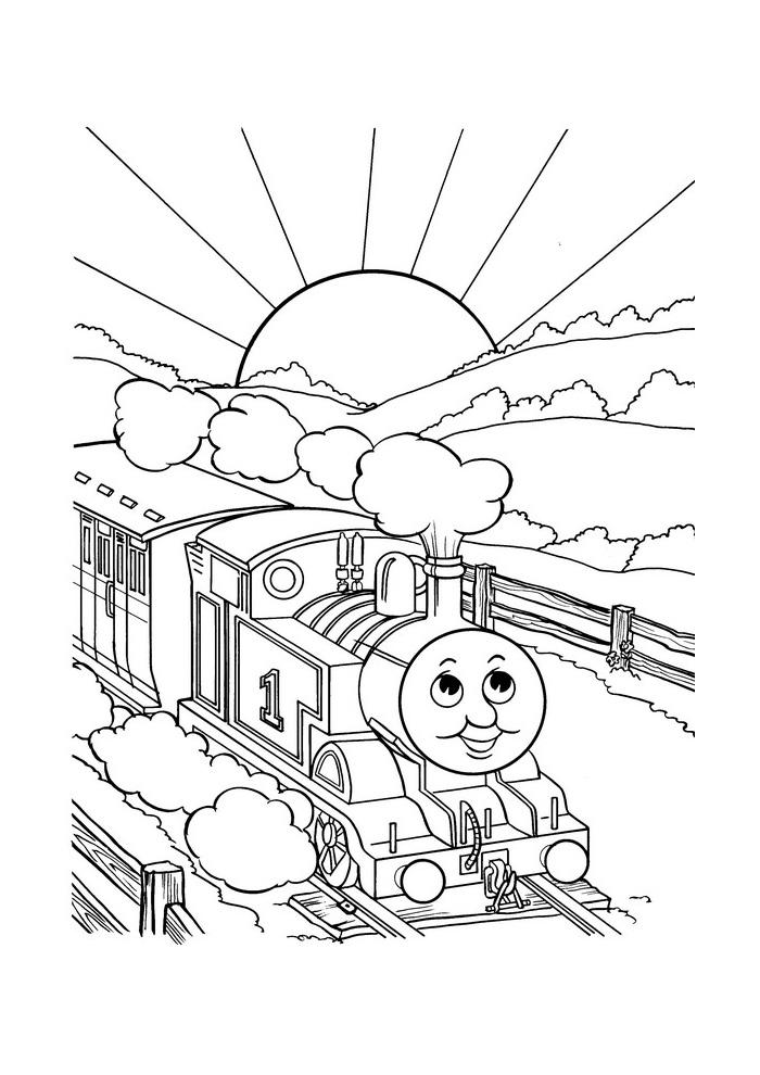Thomas de trein - tuf tuf tuf