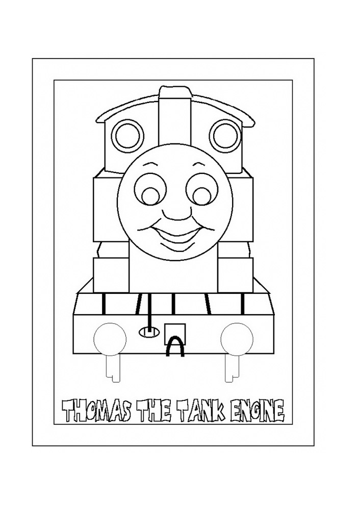 Thomas de trein - smile