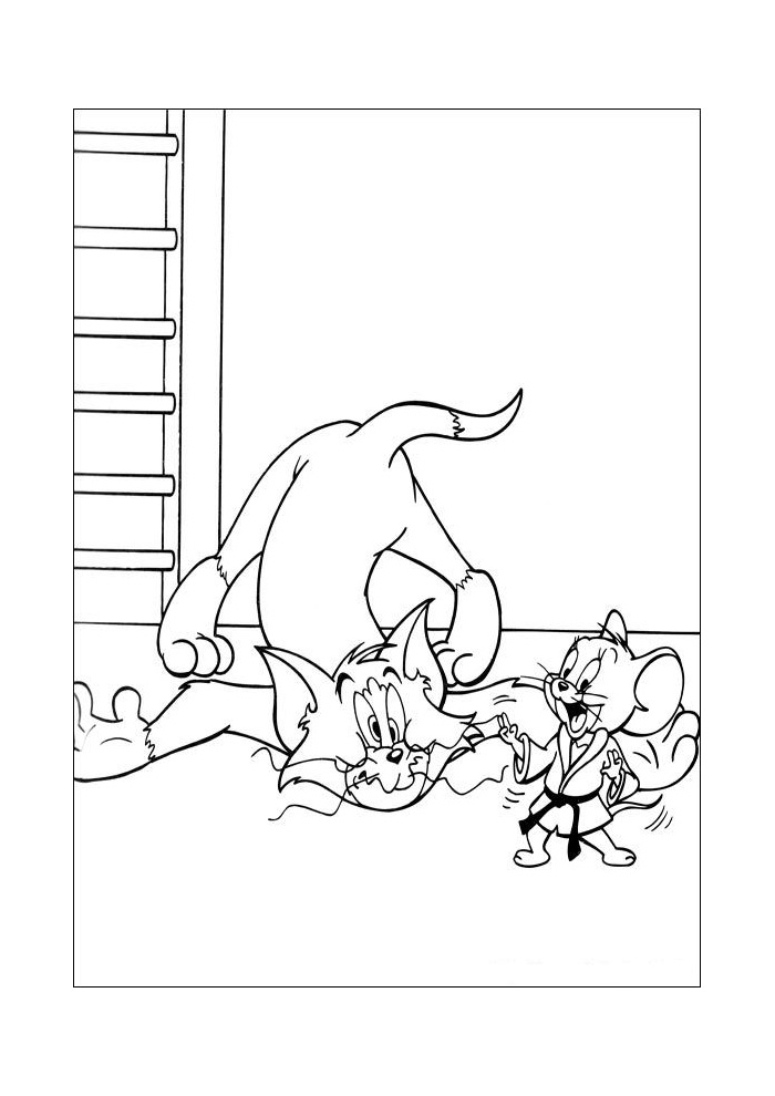 Tom en Jerry - boing