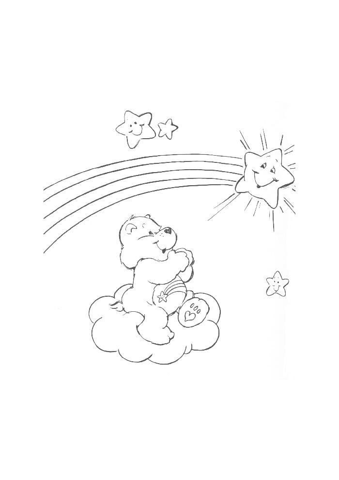 troetelbeertjes beertje met zon