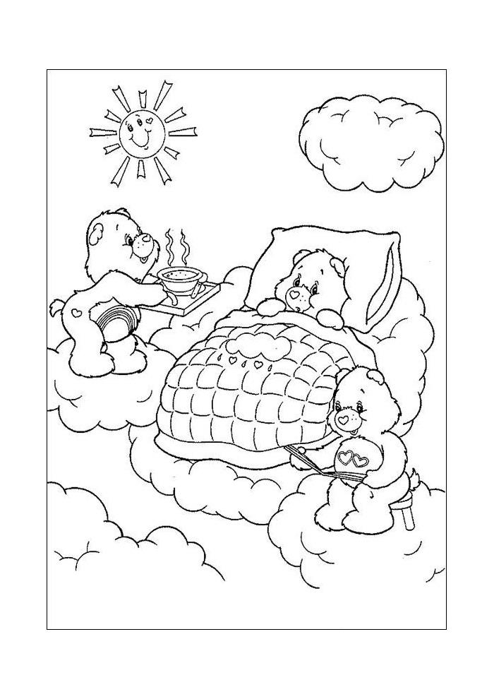 troetelbeertjes in bed