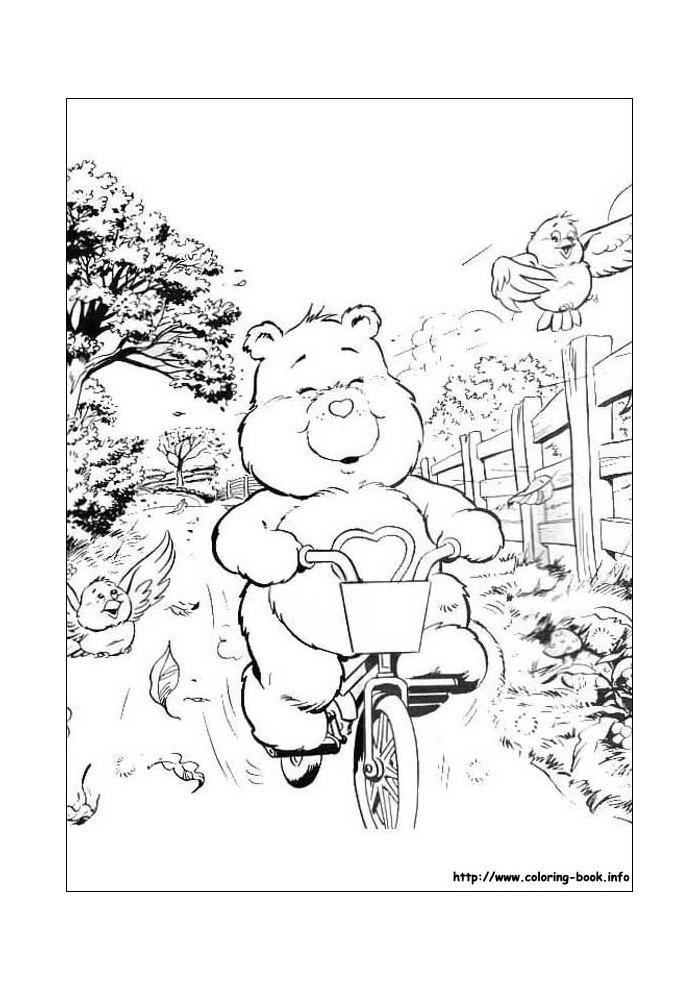 troetelbeertjes op de fiets
