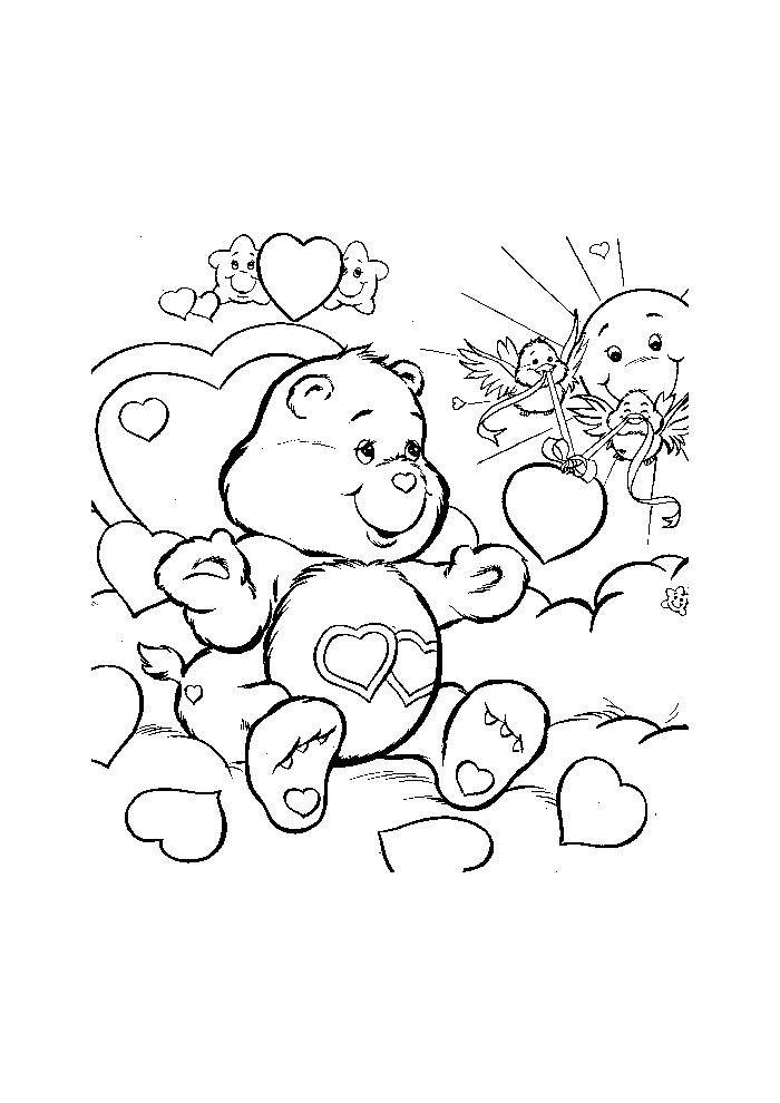 troetelbeertjes tussen de hartjes