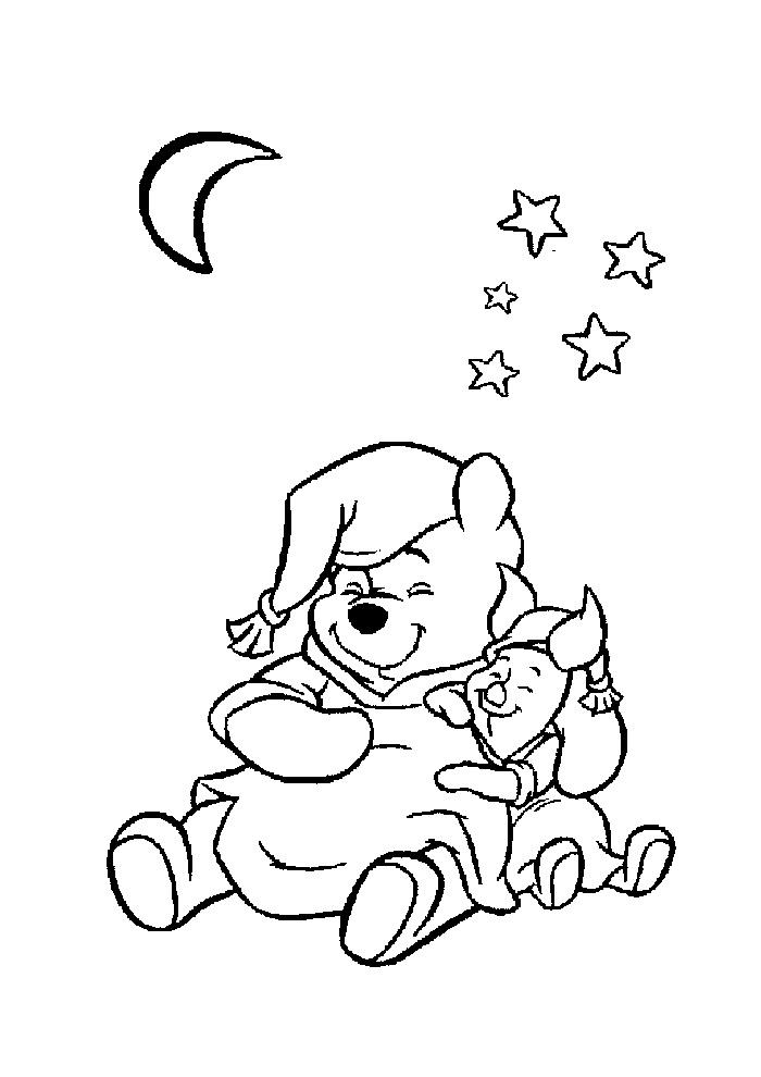 Kleurplaten Disney Winnie The Pooh.Kleurplaat Winnie The Pooh