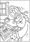 Sinterklaas knipt een kortingsbon uit