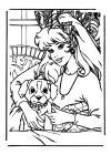 Barbie - met de hond