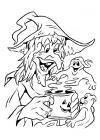 Heksen - spookje uit de beker