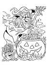 Heksen - heks maakt toverdrankje